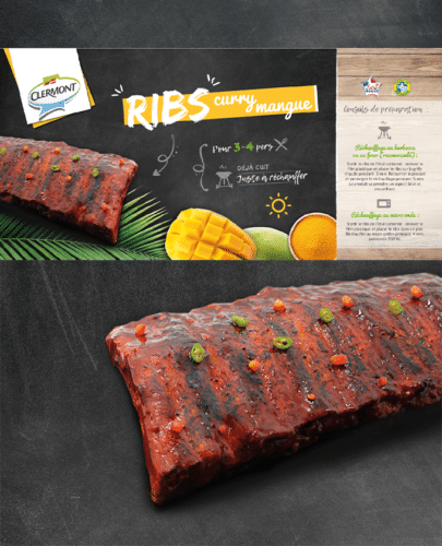 RIB'S cuit Curry Mangue